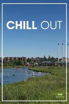 "Chill out!  We've got 3 ways you can keep your cool on H-O-T days in Bend, Oregon {Fresh from the blog → ""Keep your cool on hot days in Bend""}   Fred Real Estate Group 