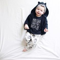 Who thinks we should bring these mama said styles back for a restock? ✋They were a hot ticket at #springatthesilos and I want to hear from you! Black or white? Onesie or tees? Which was your fave? Photo: @hollyjollydolly    #Regram via @little_adi_co