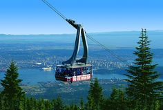 Grouse Mountain Skyride, North Vancouver, BC Canada  http://vancouversnorthshore.com/what-to-do-outdoors/attractions/grouse-mountain/