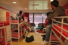 Coca-Cola Exec Stadium Box Turned into  VIP Fan Dorm for up to 8 friends to stay the night before a match : Portugal