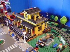 my lego train station 3 | Flickr : partage de photos !
