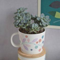 mug feuilles Mini labo - deco-graphic.com