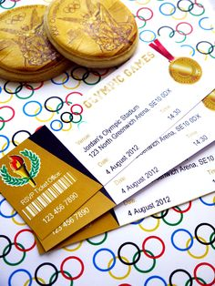 "Olympic Party ""Tickets"""