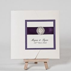Purple  #wedding invitations & stationery ... Wedding ideas for brides, grooms, parents & planners ... https://itunes.apple.com/us/app/the-gold-wedding-planner/id498112599?ls=1=8 … plus how to organise an entire wedding ♥ The Gold Wedding Planner iPhone App ♥