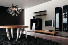Looking for living room design ideas? Here's a big showcase designs of amazing contemporary living room interior that are complemented with beautiful Living Room Wall Units, Interior Design Living Room, Living Room Furniture, Living Room Decor, Deco Furniture, Sofa Furniture, Living Area, Modern Wall Decor, Room Wall Decor