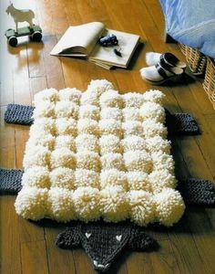 peppen sie den alten teppich auf