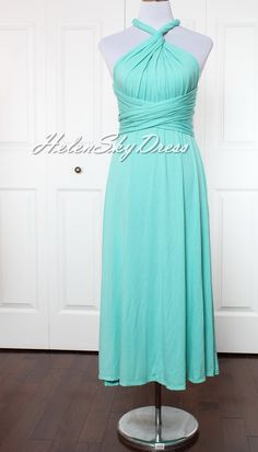 Hey, I found this really awesome Etsy listing at https://www.etsy.com/listing/201461861/bridesmaid-dress-infinity-dress-wrap