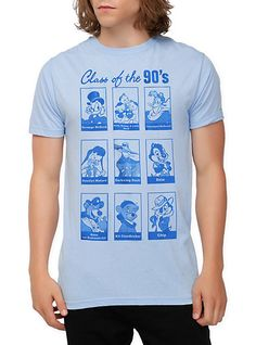 Disney Class Of The 90's Slim-Fit T-Shirt   Hot Topic