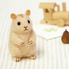 DIY handmade Wool Felt kit Small hamster - Japanese kit package H441-488 478fa787c15e