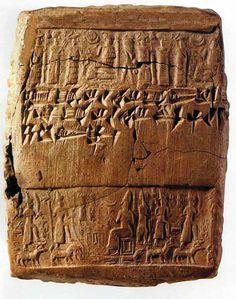 Hittite, in the style of ancient Anatolian terracotta envelope, Kültepe-Kaniş 1945-1835 BC