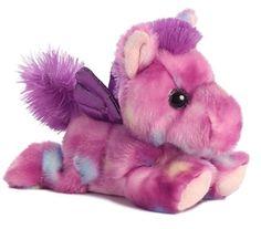"7"" Tutti Frutti Purple Pegasus Plush Stuffed Animal Toy - New   Toys & Hobbies, Stuffed Animals, Other Stuffed Animals   eBay!"