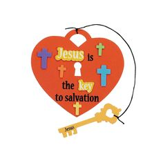 """Jesus Is the Key"" Craft Kit - OrientalTrading.com"