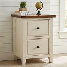 OSP Designs Knob Hill 2 Drawer Filing Cabinet | Office space ...