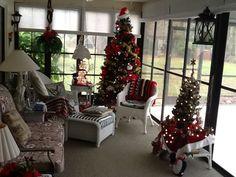 Sun room Christmas!