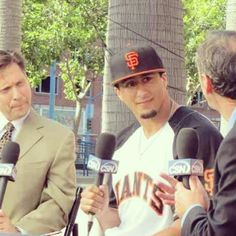 Colin Kaepernick - SF Giants fan, baseball time is here again. Show some love