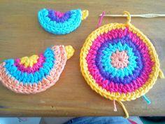 andan saltando los diablos: Pajaritos crochet
