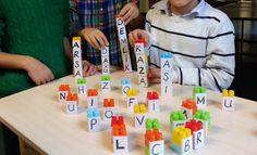 Kelime Legoları 1.Sınıf (Lego üzerindeki harfler ile kelime oluşturma)