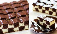 Čokoládový koláč v tvare šachovnice! Kráľ všetkých dezertov! Pripravený za 30 minút! Rozplýva sa v ústach! - Báječná vareška