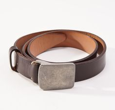 Great John Varvatos Belt with Pewter Buckle - I'd love one of these