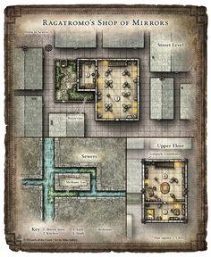 Dungeon #219 - Blades of the Stygian Mask; Ragatromo's Shop (Digital DM