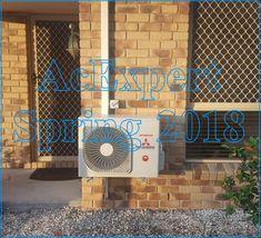 Air Conditioning Expert level 1/241 Adelaide st Brisbane Installation of Panasonic split system air conditioner in Algester Brisbane 2018