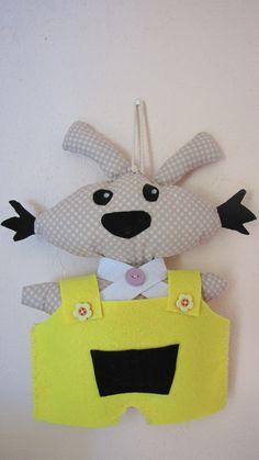 Lapinou, la mascotte de la classe