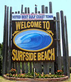 Surfside Texas beach house rental - closer than Vacation Trips, Vacation Spots, Surfside Beach Texas, Freeport Texas, Galveston Texas, Texas Travel, Beach Travel, I Love The Beach, Beach Town