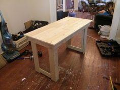 Ikea bed slat desk