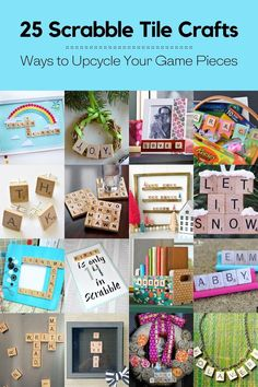Scrabble tile crafts are some of the easiest DIY projects you'll ever do – here are 25 of the best ideas on the internet to get you inspired.