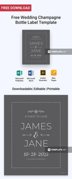 Free Wedding Address Label Free Label Templates Pinterest