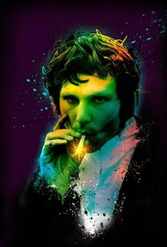 The Lizard King in color.