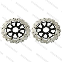(165.59$)  Watch here - http://ai7ev.worlditems.win/all/product.php?id=32235900452 - Front Brake Disc Rotor Brake Discs For DUCATI PASO 907 1990-1991 MOTO GUZZI DAYTONA IE 1000 1991-1994 BLACK