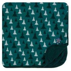 KicKee Pants Cedar Christmas Trees Toddler Blanket