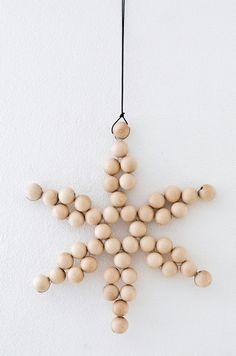 Deko-Objekte - XL Stern aus Holz   Weihnachtsstern - ein Designerstück von Sinnenrausch bei DaWanda