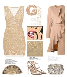 """""""Glorious"""" by felicitysparks ❤ liked on Polyvore featuring Goen.J, Nicole Miller, Valentino and Natasha Couture"""