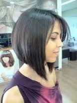 Resultado de imagem para cabelos curtos chanel para rosto redondo