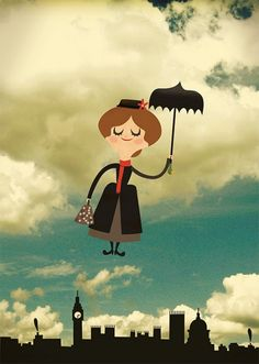 Poster Mary Poppins                                                                                                                                                                                 Mais