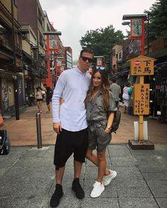 Instagram media by marina_official - 🇯🇵🎎Asakusa👻Snap: marina_luczenko #amazingtrip #honeymoon #fun #tokio #tokyo #japan #asakusa #justmarried Just Married, Celebrity Style, Tokyo Japan, Celebrities, Casual, People, Summer, Fun, Ships