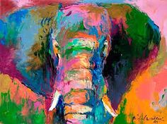 acrylic elephant painting - Google Search