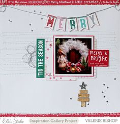 Merry - Scrapbook.com - Don't forget to take photos of and scrapbook some of your favorite Christmas decor.