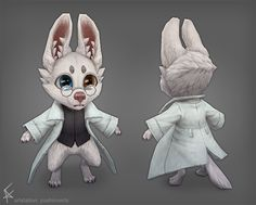 ArtStation - Science Puppy!, Ariel Fain