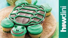 Birthday Cake Ideas: How to Make a Fun Turtle Cupcake Cake