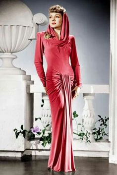 Claudette Colbert. #classic #beauty #Hollywood #actress #GoldenAge #movies #ClaudetteColbert