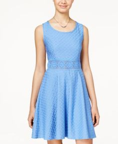 American Rag Crochet A-Line Dress, Only at Macy's | macys.com