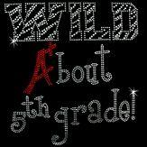 hot fix motif wild about 5th grade