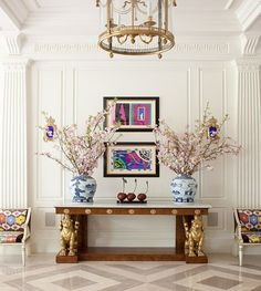 Entry and Hall in Dallas, TX by Kirsten Kelli, LLC