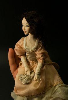 Art doll Anette by Romantic Wonders