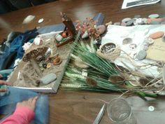 Our beach design using different materials