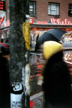 SAUL LEITER Yellow Scarf, 1956