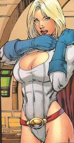 Ed Benes Powergirl artwork